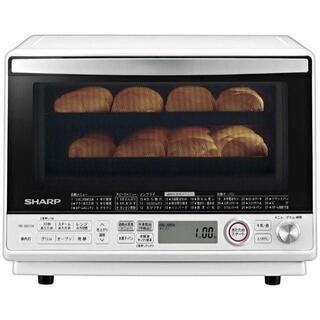 シャープ 過熱水蒸気 オーブンレンジ 2段調理 31L ホワイト RE-SS10