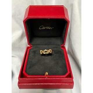 Cartier - 正規品 カルティエ Cハートリング イエローゴールド