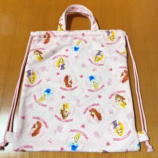 ディズニー(Disney)のディズニープリンセス ナップサック 体操袋(リュックサック)