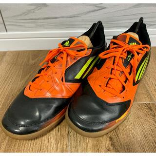 アディダス(adidas)のadidas サッカーフットサルシューズ インドアシューズ  オレンジ 28cm(シューズ)