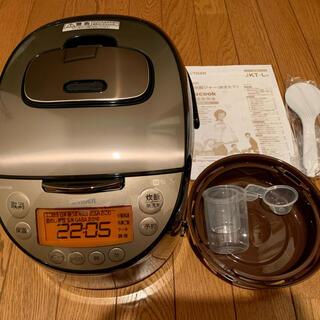 TIGER - 【未使用】IH炊飯器 炊きたて tacook 5.5合炊き パールブラウン
