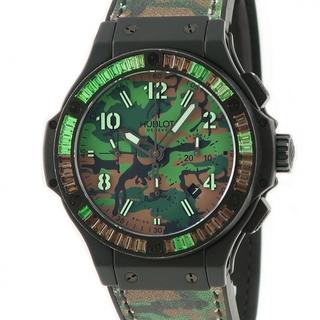 ウブロ(HUBLOT)のウブロ  コマンドバン ジャングルカラット クロノ 301.CI.861(腕時計(アナログ))