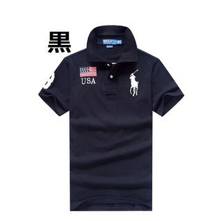 POLO RALPH LAUREN - 高品質男女兼用ポロ ラルフローレンポロシャツ5色