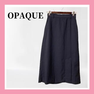 オペーク(OPAQUE)の美品 OPAQUE オペーク フレア スカート レディース(ロングスカート)
