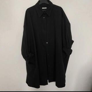 クラネ ビッグシャツ clane 黒(シャツ/ブラウス(長袖/七分))