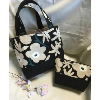 marimekko - 新品未使用☆北欧 花柄 トートバッグ ランチバッグ バッグ