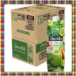 カゴメ(KAGOME)の野菜生活100 Smoothie グリーンスムージーMix 1000g 6本入(その他)