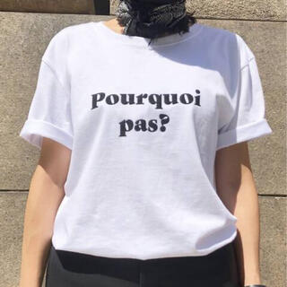 DEUXIEME CLASSE - 新品 L'Appartement  Les Petits Basics Tシャツ