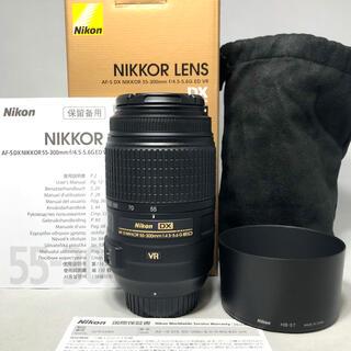 ニコン(Nikon)のNikon AF-S DX55-300mm f/4.5-5.6G ED VR美品(レンズ(ズーム))