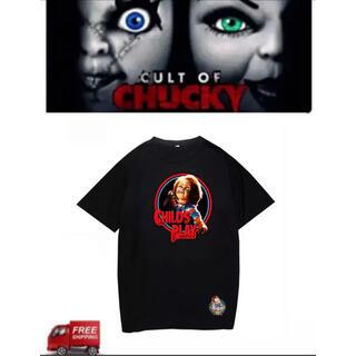 メンズ ホラー Tシャツ 「チャッキー 」チャイルドプレイ サイズ3XL(Tシャツ/カットソー(半袖/袖なし))