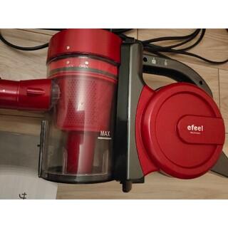 アイリスオーヤマ(アイリスオーヤマ)のIRIS ESC-55K-Rアイリスオーヤマ掃除機レッド(掃除機)