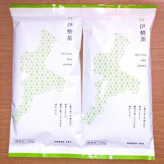 三重県 伊勢茶 100g かぶせ茶 緑茶   2袋(茶)