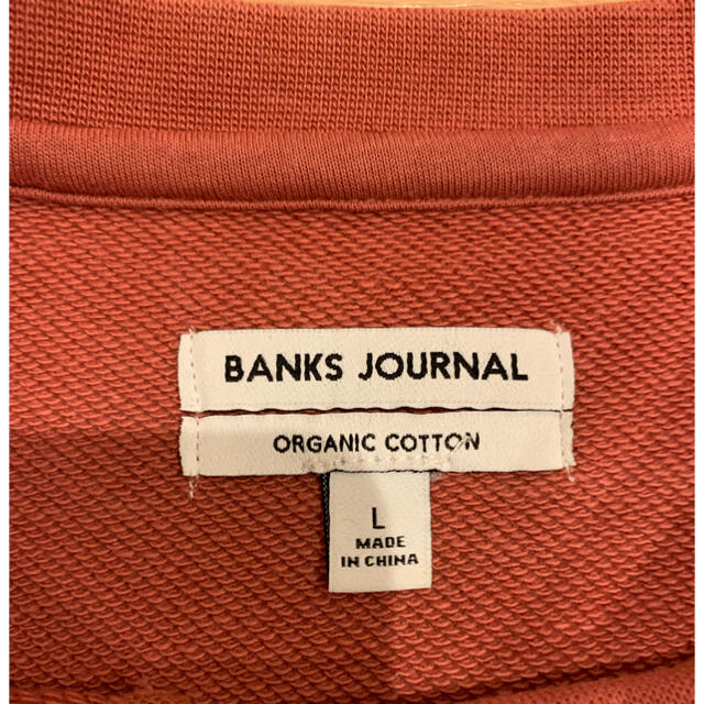 BANKS JORUNAL トレーナー メンズのトップス(スウェット)の商品写真