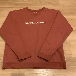BANKS JORUNAL トレーナー