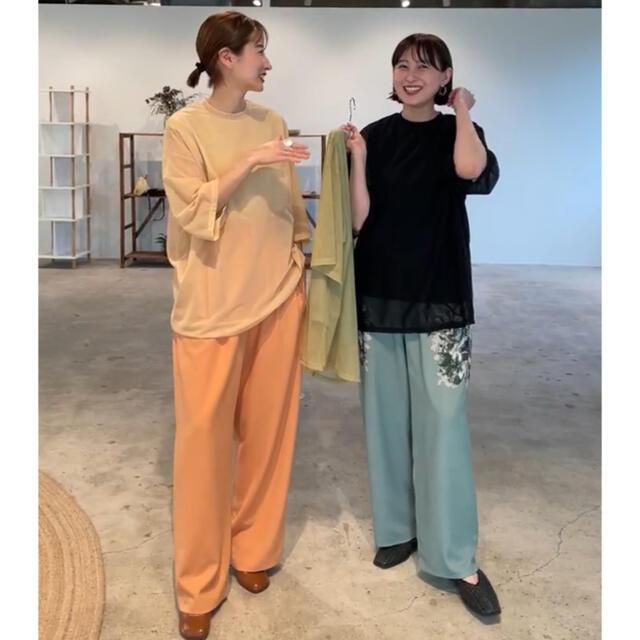 試着のみ 松本恵奈着 クラネ clane  ベーシックタックパンツ レディースのパンツ(カジュアルパンツ)の商品写真