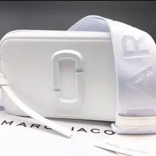 マークジェイコブス(MARC JACOBS)の新品 MARC JACOBS ショルダーバッグ ムーンホワイト(ショルダーバッグ)
