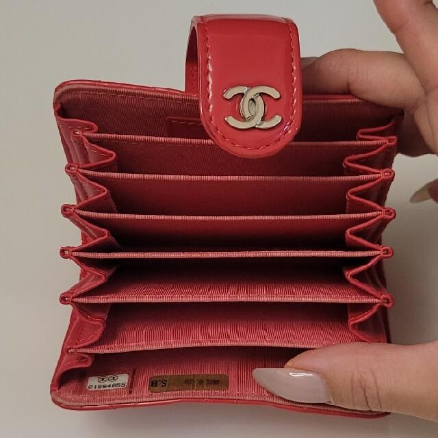 CHANEL(シャネル)のCHANEL/カードケース/じゃばらタイプ レディースのファッション小物(名刺入れ/定期入れ)の商品写真
