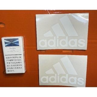 アディダス(adidas)のadidas 切り文字ステッカー 防水仕様 アースカラー カスタム(その他)