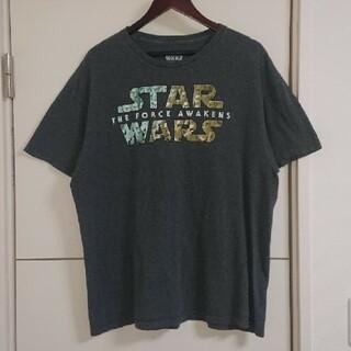 STAR WARS スターウォーズ Tシャツ ムービーロゴ 古着 (Tシャツ/カットソー(半袖/袖なし))
