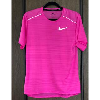 NIKE - ナイキ ランニングシャツ サイズM ピンク 試着のみの美品