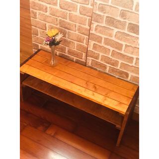 ローテーブル  木製 センターテーブル  おしゃれ空間 収納スペース