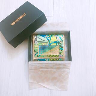 アッシュアンドダイアモンド(ASH&DIAMONDS)のASH&DIAMONDS アッシュ&ダイアモンド 財布 折り畳み 折り財布(財布)