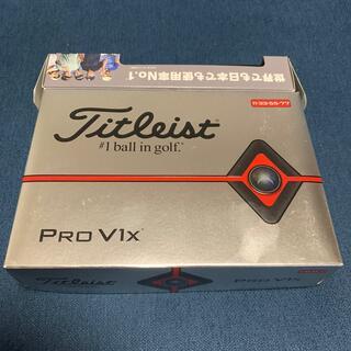 タイトリスト(Titleist)のタイトリスト pro v1x(ゴルフ)