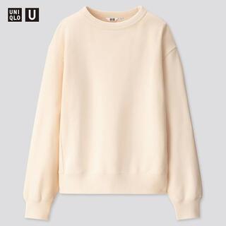 ユニクロ(UNIQLO)のUNIQLO ワイドフィットスウェットシャツ Sサイズ(スウェット)