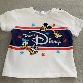 ディズニー(Disney)のディズニー チームディズニー Tシャツ 80センチ(Tシャツ)