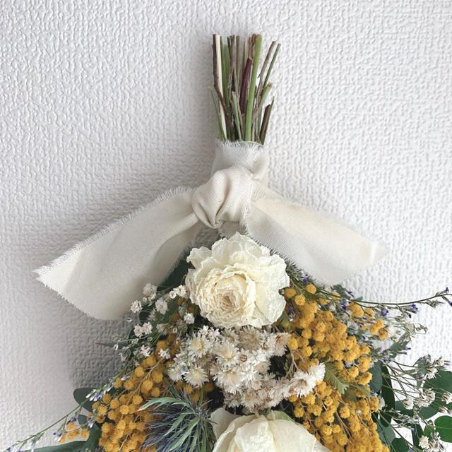 No.130 ドライフラワースワッグ ハンドメイドのフラワー/ガーデン(ドライフラワー)の商品写真