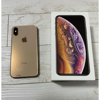 Apple - iPhoneXS 64GB ゴールド