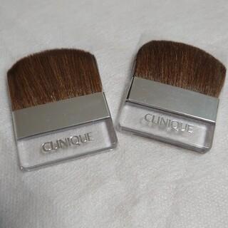 クリニーク(CLINIQUE)の【未使用】クリニーク フェイスブラシ 2個セット(ブラシ・チップ)