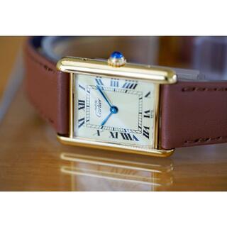 Cartier - 専用 カルティエ マスト タンク アイボリー ローマン LM Cartier
