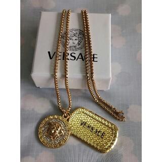 ヴェルサーチ(VERSACE)のお勧め!Versaceヴェルサーチ ネックレス メンズ ファション(ネックレス)