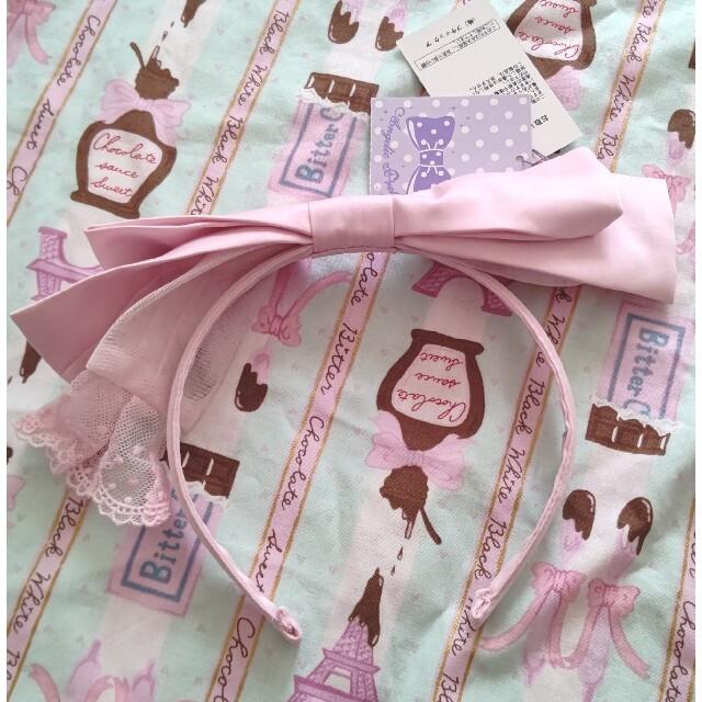 Angelic Pretty(アンジェリックプリティー)のリボンカチューシャ レディースのヘアアクセサリー(カチューシャ)の商品写真