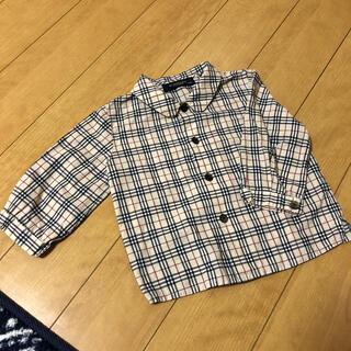 バーバリー(BURBERRY)のBURBERRY  大人気全体ノヴァチェックシャツ 子供用70cm(シャツ/カットソー)