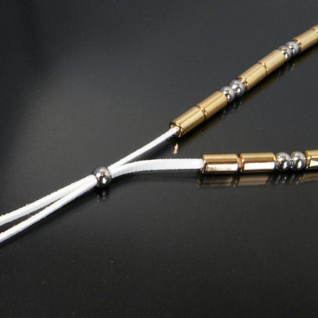 5フェザー イーグル メタルビーズ ネックレス 三代目 登坂広臣 メンズのアクセサリー(ネックレス)の商品写真