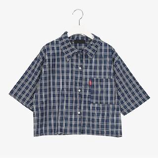 ゴゴシング(GOGOSING)のチェックシャツ(シャツ/ブラウス(半袖/袖なし))