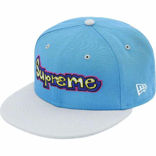 Supreme - Supreme Gonz Logo New Era 7 1/4 青