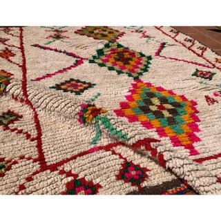 ロンハーマン(Ron Herman)のモロッコ ラグ カーペット 絨毯 アジラル カラフル ベニワレン(ラグ)