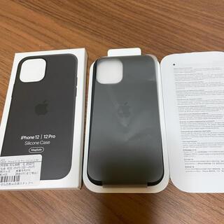 Apple -  iPhone12/ 12pro【アップル純正シリコン.ブラック.未使用品】