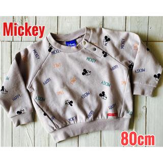 Disney - 新品 ディズニー ミッキー トレーナー 長袖 80cm