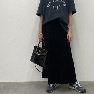 DEUXIEME CLASSE - 新品未使用 Jersey フレアスカート ブラック