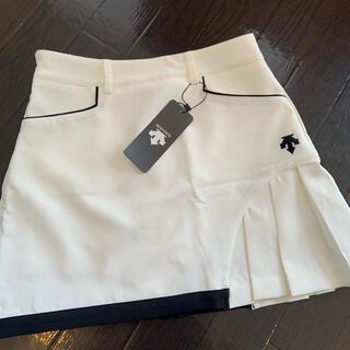 DESCENTE - デサント スカート ホワイト M
