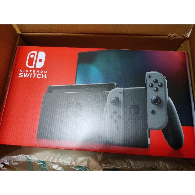 Nintendo Switch(ニンテンドースイッチ)の未開封新品Nintendo Switch Joy-Con(L)/(R) グレー エンタメ/ホビーのゲームソフト/ゲーム機本体(家庭用ゲーム機本体)の商品写真