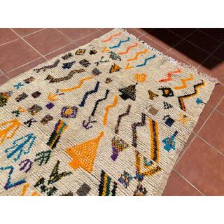 モロッコ ラグ カーペット 絨毯 アジラル  ベニワレン(ラグ)