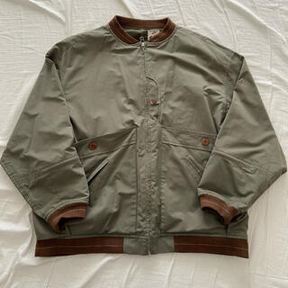 NOROLL [ノーロール] ROUTINE JACKET OLIVE