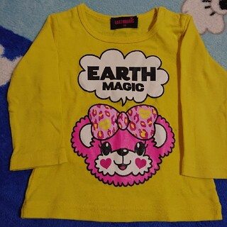 アースマジック(EARTHMAGIC)のアースマジック 長袖 80㎝(Tシャツ)