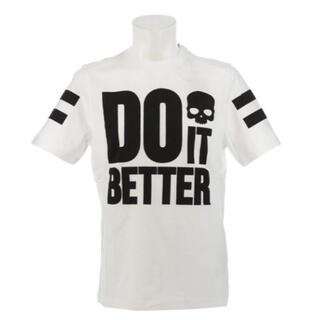 ハイドロゲン(HYDROGEN)の新品 ハイドロゲン DO IT BETTER Tシャツ RG0002 XLサイズ(Tシャツ/カットソー(半袖/袖なし))