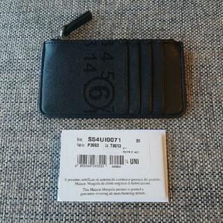 エムエムシックス(MM6)のMM6 エムエム6 メゾンマルジェラカードケース コインケース ブラック(財布)